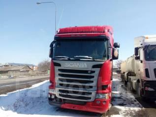 Scania R440LA. Сцепка Рефрижератор Scania R 440LA4X2HNA и и Schmitz SKO 24, 13 000 куб. см., 10 т и больше