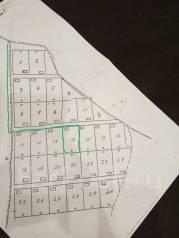 Земельный участок на Дефризе. 1 000кв.м., собственность, электричество, вода, от частного лица (собственник). План (чертёж, схема) участка