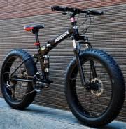 Велосипед складной фэтбайк в аренду.