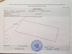 Продаю земельный участок. 2 000кв.м., собственность, электричество, вода, от агентства недвижимости (посредник). План (чертёж, схема) участка