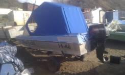 Казанка-5М3. Год: 1991 год, длина 5,00м., двигатель подвесной, 50,00л.с., бензин