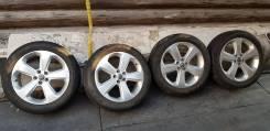 Продам колёса летние Pirelli Scorpion Verde 215/55R18 на литых дисках. 7.0x18 5x105.00 ET38 ЦО 56,6мм.