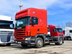 Scania R124. Седельный тягач GA4X4NA 420 2004 г/в, 11 700 куб. см., 10 т и больше