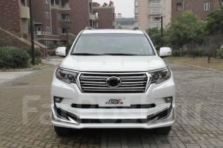 Обвес кузова аэродинамический. Toyota Land Cruiser Toyota Land Cruiser Prado, GDJ150, GDJ150L, GDJ150W, GDJ151W, GRJ150, GRJ150L, GRJ150W, KDJ150, KDJ...