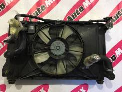 Радиатор охлаждения двигателя. Toyota Corolla Axio, NZE141 Toyota Corolla Fielder, NZE141, NZE141G