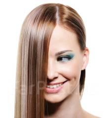 Акция! Кератиновое выпрямление волос 2500 любая длина! Ботокс! Полировка!