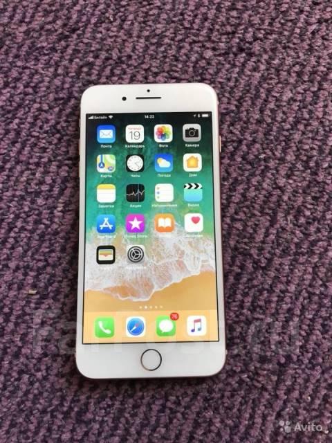 Apple iPhone 8 Plus. Б/у, 64 Гб, Золотой, 4G LTE