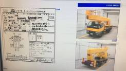 Mitsubishi Canter. Продам отличную автовышку, 5 200 куб. см., 24 м.