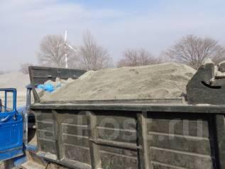Продам с доставкой сыпучие материалы: песок, пескогравий, слане