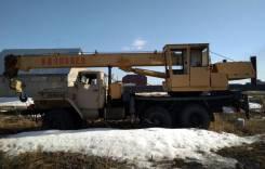 Урал Ивановец. Автокран Ивановец Урал 14 тонн, у Магнитогорска продам., 14 000 кг., 14 м.