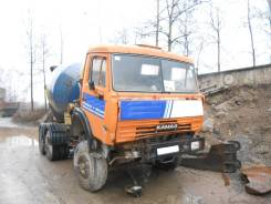 КамАЗ. Автобетоносмеситель АБС-7-01 на шасси Камаз-53229С, 10 850 куб. см., 7,00куб. м.