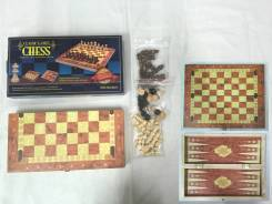 Игра 3 в 1 шахматы,шашки,нарды