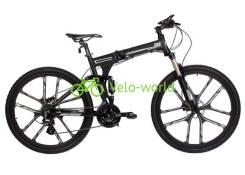 """27.5"""" Складной алюминиевый велосипед Warrior iRide для высоких"""