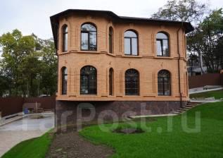Архитектура. Проект дома. Строительство дома. Фасад из кирпича. Дизайн