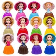 Мини кукла-кекс 8 см