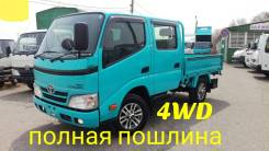 Toyota ToyoAce. Toyota Toyoace 4WD, двухкабинник+борт, 3 000куб. см.
