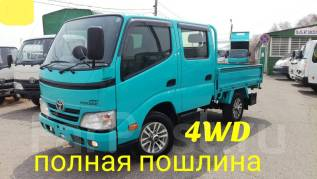 Toyota ToyoAce. Toyota Toyoace 4WD, двухкабинник+борт, 3 000 куб. см.