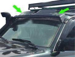 Дефлектор лобового стекла. Toyota Land Cruiser Toyota Land Cruiser Prado Mitsubishi L200