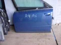 Дверь боковая. Audi A4, B6 Двигатели: AVB, AWA, AVF, ALZ, AYM, AVJ, BEX, AMB, BAU, BDV, BCZ, BFB, AKE, ASN, AWX, BFC, BDG, BDH, ALT