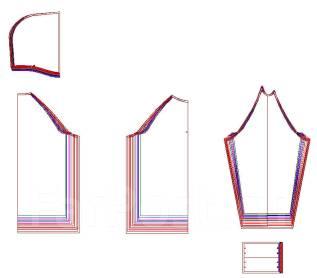 Разработка лекал для швейного производства. от 1200 руб