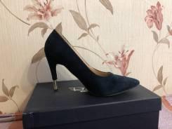 Туфли синие р-р 38