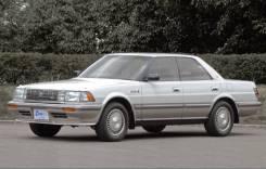 Губа. Toyota Crown, JZS131