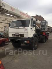 Челябинец КС-45721. Продаётся Автокран «Челябинец» Камаз 43118 в Красноярске, 10 850куб. см.