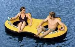 Надувной плот сиденье для отдыха на воде, 259х135 см BestWay 43113