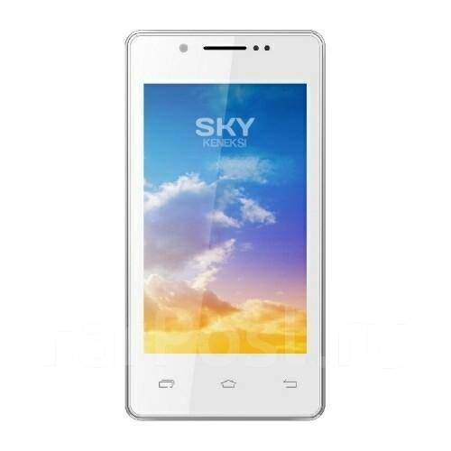 Keneksi Sky. Б/у, до 8 Гб, Белый, Dual-SIM