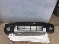 Бампер передний на Nissan NP300 D22