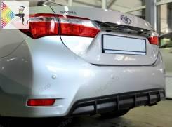 Диффузор заднего бампера для Toyota Corolla E180