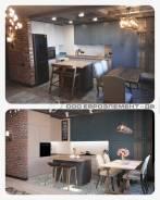 """Реализация проекта в стиле лофт в жилом комплексе """"Мыс Купера"""". Тип объекта квартира, срок выполнения 6 месяцев и более"""