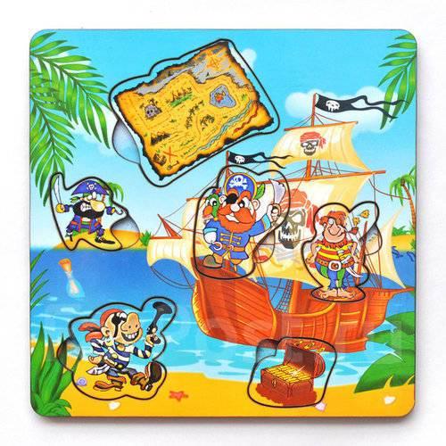674c0ae64959 Рамка-вкладыш Пираты с картой - Игрушки во Владивостоке