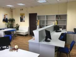 Оборудованное рабочее место в офисе 40 кв. 40кв.м., улица Постышева 16, р-н Центральный