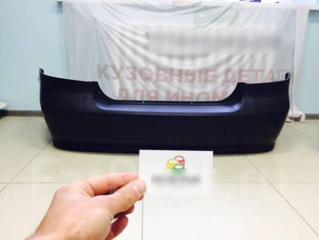 Задний бампер Шевроле Авео Т250 седан Заз вида
