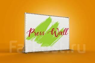 Печать, аренда и дизайн Пресс Волл/Press Wall