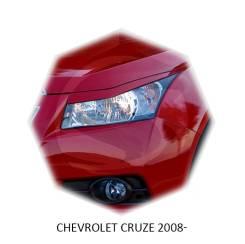 Накладка на фару. Chevrolet Cruze, HR51S, HR52S, HR81S, HR82S, J300, J305, J308 Двигатели: A14NET, A14XERLDD, A17DTE, F16D3, F16D4, F18D4, LUD, LUJ, M...