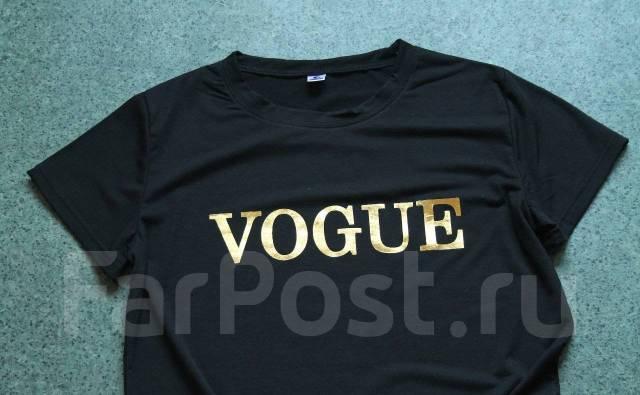 46e08e2586ce Четкая футболка Vogue. Тренд. 40-48. новая. с 1р - Основная одежда ...