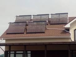 Солнечное отопление и ГВС, монтаж водяного теплого пола, радиаторов