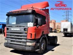 Scania P114GA. Седельный тягач Scania R114 GA 4X2 NA340, 10 640куб. см., 11 240кг.