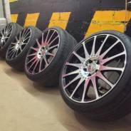 "Комплект колес Carlsson R19 Mercedes-Benz+ Continental 265/30; 235/35. 8.5/9.5x19"" 5x112.00 ET40/50 ЦО 66,6мм."