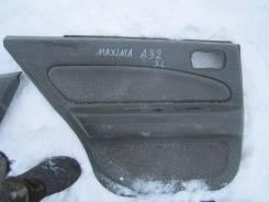 Обшивка двери. Nissan Maxima, A32