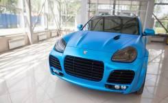 Обвес кузова аэродинамический. Porsche Cayenne, 955