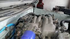 Двигатель в сборе. Mitsubishi Pajero Evolution, V55W Двигатель 6G74