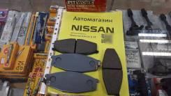Колодки тормозные. Nissan Safari, FGY60, VRGY60, VRY60, WGY60, WRGY60, WRY60, WYY60 Двигатели: RD28T, TB42E, TB42S, TD42, TD42T