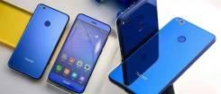 Huawei Honor 8 lite. Б/у, 32 Гб, Фиолетовый, Dual-SIM