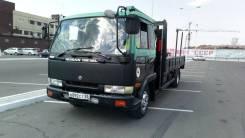 Nissan Diesel Condor. Продам грузовик с манипулятором, 6 925куб. см., 5 500кг., 4x2