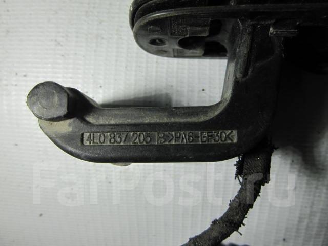Ручка двери внешняя. Audi Q7, 4LB Двигатели: BAR, BHK, BTR, BUG, BUN