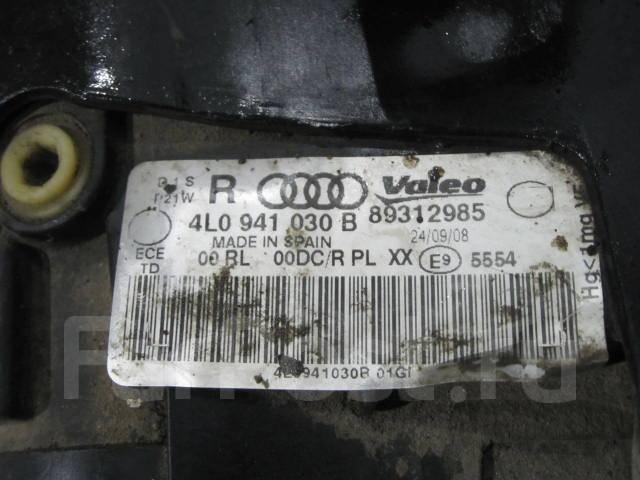Фара. Audi Q7, 4LB Двигатели: BAR, BHK, BTR, BUG, BUN