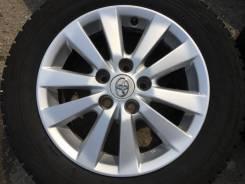 "Литьё Toyota + 205/60R16 Bridgestone Blizzak Revo GZ. 6.5x16"" 5x114.30 ET45"